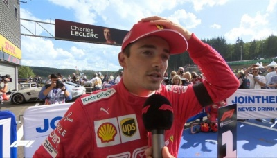 Формула-1: Гран-прі Бельгії виграв Леклер