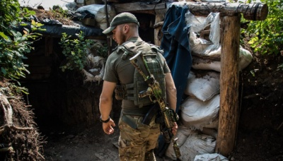 Бойовики з мінометів обстріляли українські позиції біля Водяного й Новолуганського