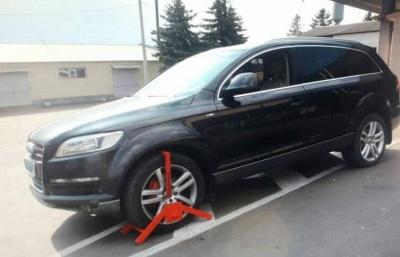 На Буковині на кордоні знайшли Audi, викрадену в Італії