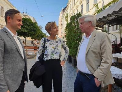 Два посли Німеччини приїхали до Чернівців заради MERIDIAN CZERNOWITZ