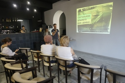 У Чернівцях на презентацію книжки бійця прийшло лише кілька людей