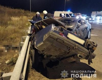 Четверо молодиків загинули у страшній ДТП на трасі Київ-Чоп, ще троє пасажирів у лікарні