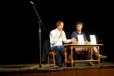 Андрій Любка презентував у Чернівцях книжку про подорож Балканами