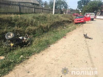 На Буковині п'яний водій збив на смерть 8-річного хлопчика, який катався на квадроциклі