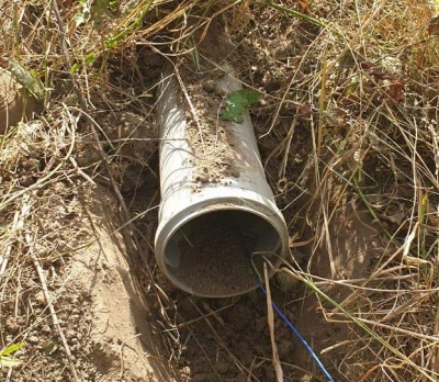 На Буковині під кордоном прокопали трубопровід для переміщення сигарет до Румунії