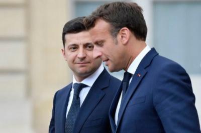 Посол Франції: Між Зеленським та Макроном встановилися дружні відносини