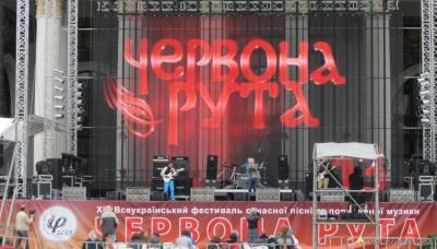 На фестиваль «Червона рута» до Чернівців приїде майже тисяча учасників