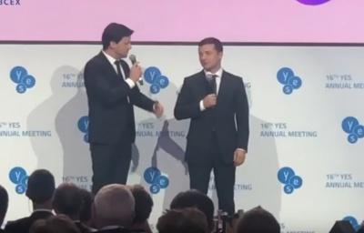 Зеленський зіграв самого себе у пародії «Кварталу 95» – відео