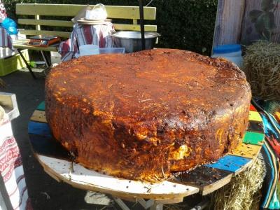 Сир вагою 164 кг: у Чернівцях встановили новий рекорд України – фото