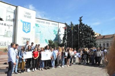 У Чернівцях вшанували пам'ять Гонгадзе та всіх загиблих журналістів - фото