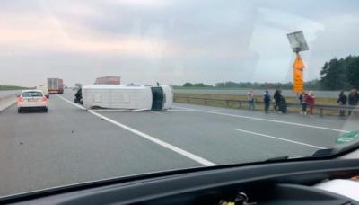 У Польщі два українські мікроавтобуси потрапили у ДТП. Є постраждалі