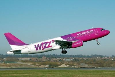 Лоукостер Wizz Air збільшить кількість українських рейсів