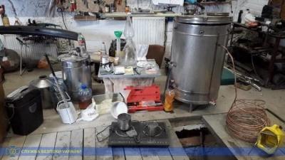 У Чернівцях СБУ «накрила» ще одну нарколабораторію – фото