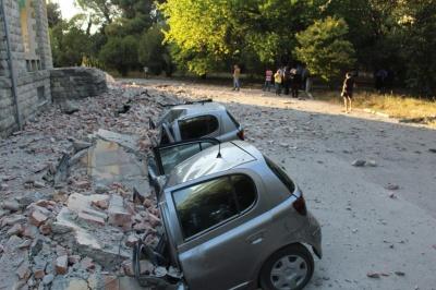 В Албанії зафіксували найпотужніший за 30 років землетрус