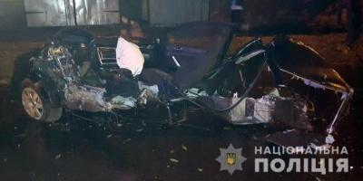 У Чернігові хлопець не впорався із керуванням авто. Загинули 4 підлітків