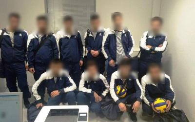 У Греції затримали сирійців-нелегалів, які видавали себе за українську волейбольну збірну