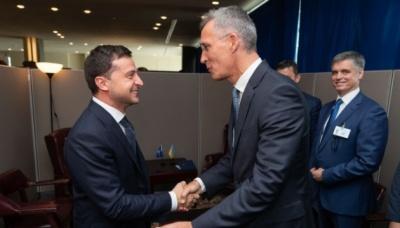 Зеленський провів зустріч із генсеком НАТО
