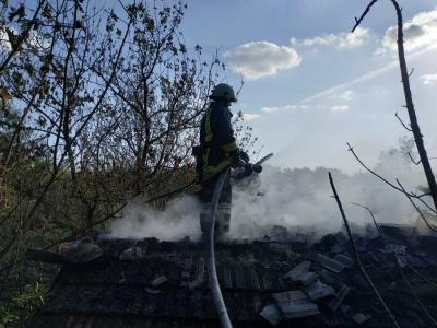 Масштабна пожежа на Буковині: згоріло 3 тонни вугілля - фото