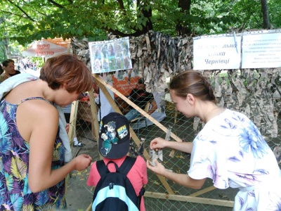 Найбільша маскувальна сітка: у Чернівцях планують встановити світовий рекорд