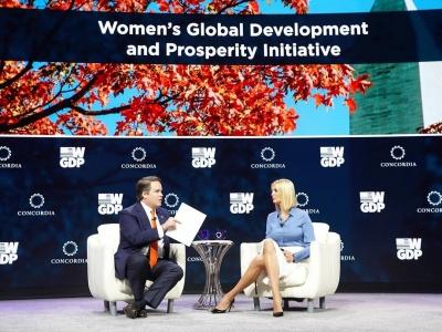 Іванка Трамп осоромилася на Генасамблеї ООН через нижню білизну