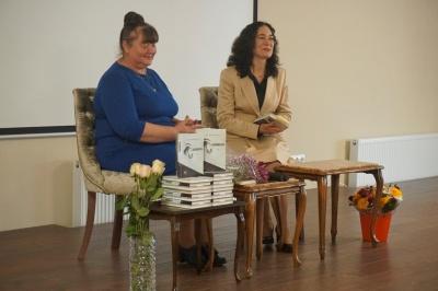Віра Китайгородська презентувала новий роман «Чорна гвардія»