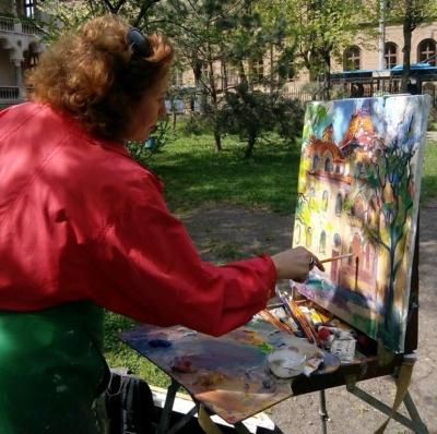 «Чернівецькі арабески»: художниця Марина Рибачук запрошує на виставку