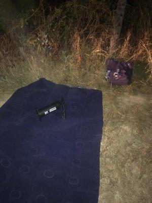 На Буковині контрабандисти хотіли переправити сигарети на надувному матраці