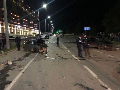 У Чернівцях повністю перекрили рух на Воробкевича через ДТП з потерпілими