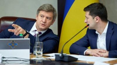 Зеленський підпише заяву Данилюка про відставку