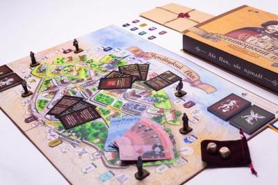 Придбати ратушу чи походити «Ольгою Кобилянською»: з'явилась настільна гра про Чернівці