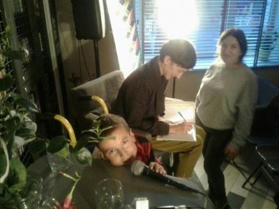 Оксана Драчковська презентувала у Чернівцях свою інклюзивну казку