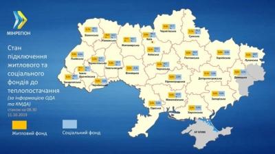 Буковина - у п'ятірці областей, де ще не розпочали опалювальний сезон