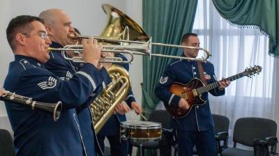 У Чернівцях виступить оркестр військово-повітряних сил США в Європі
