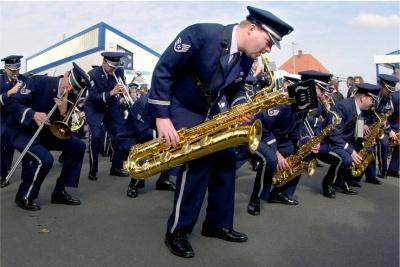 Концерт оркестру військово-повітряних сил США у Чернівецькій філармонії – наживо