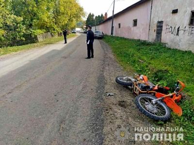 На Буковині «Жигулі» зіткнулись із мотоциклом, водій мототранспорту в лікарні