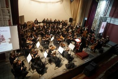 Стрілецькі пісні та симфонія про свободу – у Чернівцях відбувся концерт до Дня захисника