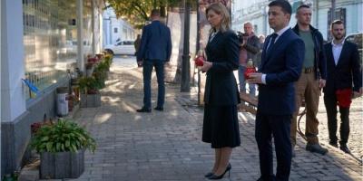 Президент вшанував пам'ять загиблих захисників України