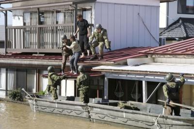 """У Японії кількість жертв тайфуну """"Хагібіс"""" зросла до 42 осіб"""