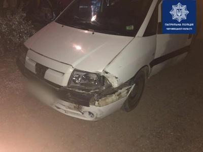 У Чернівцях п'яний водій скоїв ДТП і намагався втекти - фото