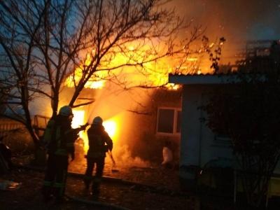 На Буковині через несправний бойлер загорівся житловий будинок