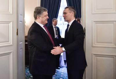 «Багато років працювали пліч-о-пліч», - Столтенберг відзначив реформи Порошенка для членства України в НАТО