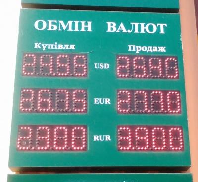 Курс валют у Чернівцях на 17 жовтня