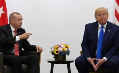 ЗМІ: Ердоган викинув лист від Трампа у смітник