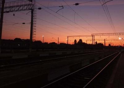 Вночі потяг «Київ-Чернівці» на смерть збив чоловіка