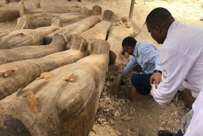Знахідка століття: в Єгипті виявили таємничі саркофаги