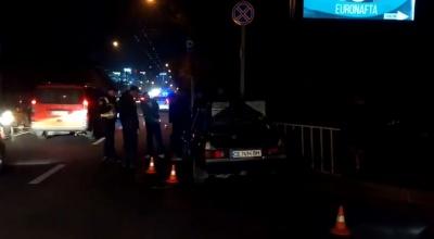 У Чернівцях квадроцикл врізався у таксі, постраждав неповнолітній хлопець