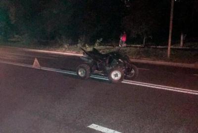 ДТП з квадроциклом у Чернівцях: в якому стані постраждалий юнак