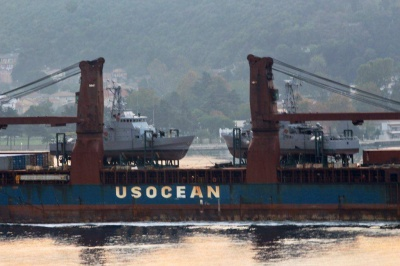 До Одеси прибули подаровані США катери Island