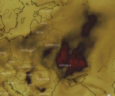"""Над Україною """"зашкалює"""" рівень чадного газу: синоптик пояснила, що на це впливає"""