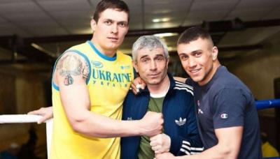 Батько Ломаченка отримав спеціальний пояс WBC